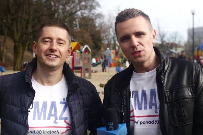 Jakub i Dawid są małżeństwem. Zapytali rodziców, czy boją się o swoje dzieci po wprowadzeniu Deklaracji LGBT+
