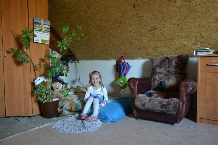 Łóżko jednej z córeczek