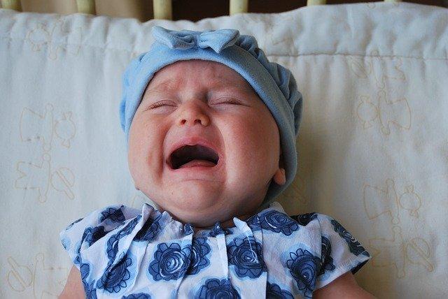 A niech trochę popłacze, nic złego się nie dzieje.