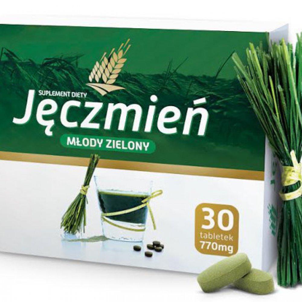 zielony jęczmień wiki