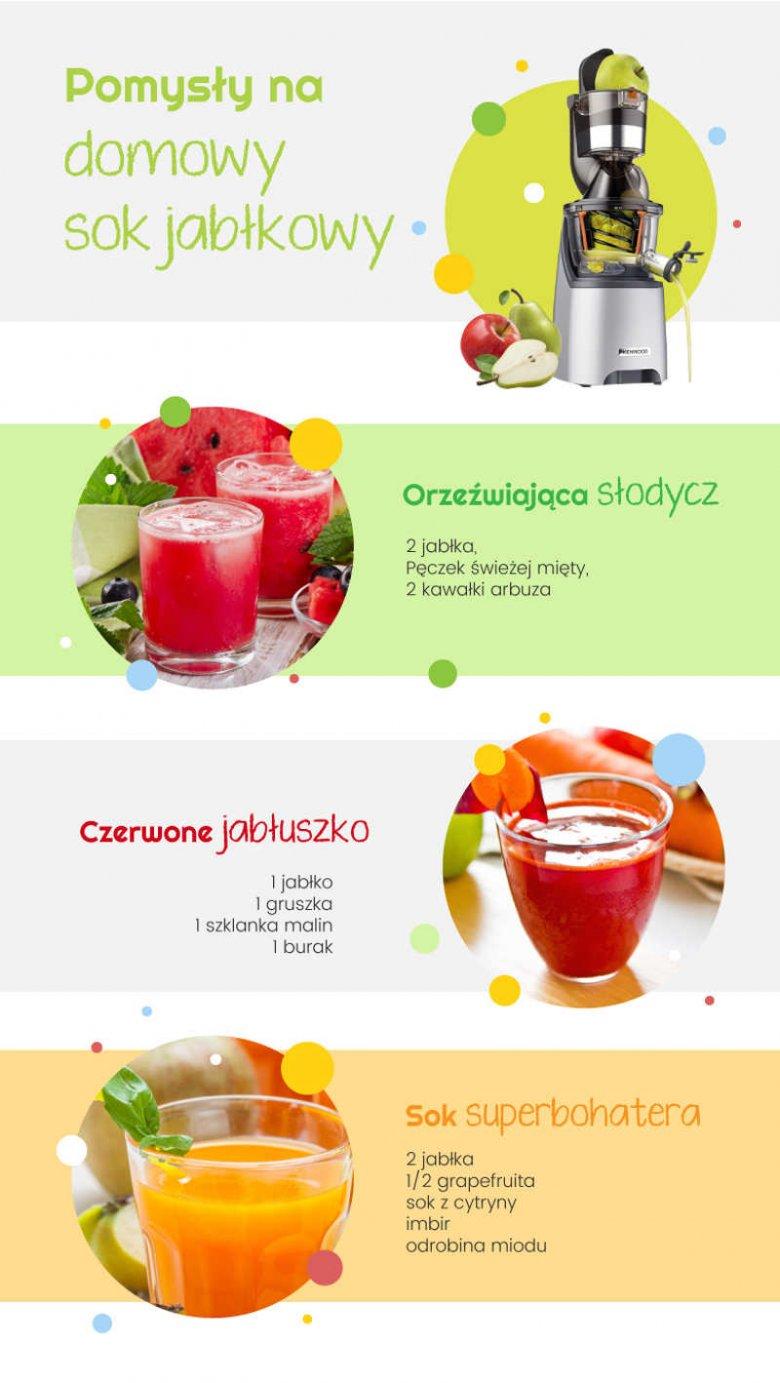 Domowy sok jabłkowy dla dzieci