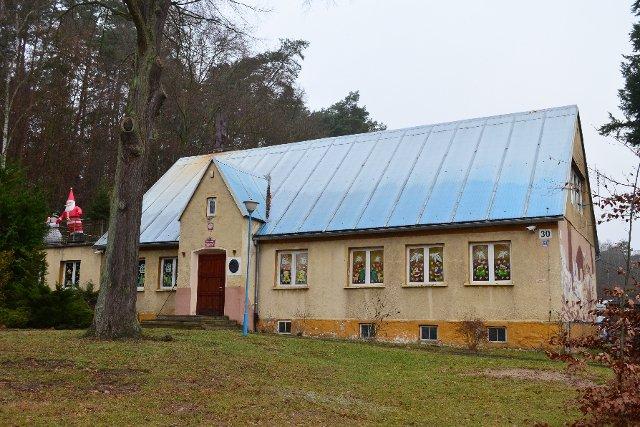 Przedszkole w Wędrzynie, zdjęcie z 20 grudnia 2016 roku