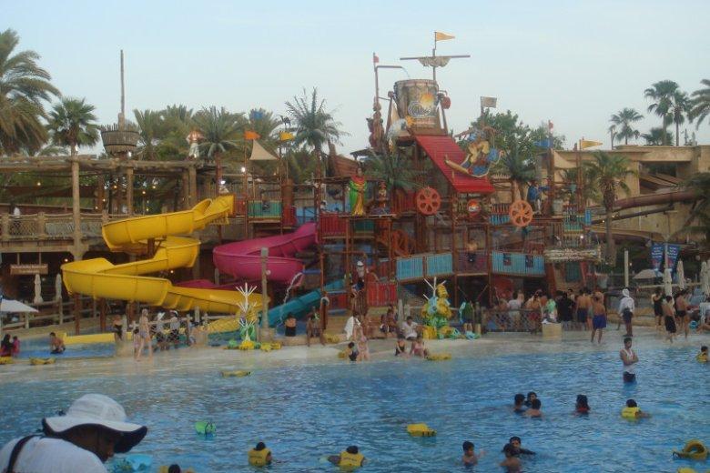 Atrakcją Wild Wadi Waterpark jest m.in. Jumeirah Sceirah, zjeżdżalnia wodna, dzięki której można rozwinąć prędkość do 80 km/godz