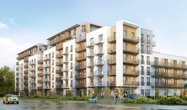 Inwestycja Nowe Odolany to osiedle mieszkaniowe na Woli, które ma zostać oddane do użytkowania w 3 kw. 2018 roku