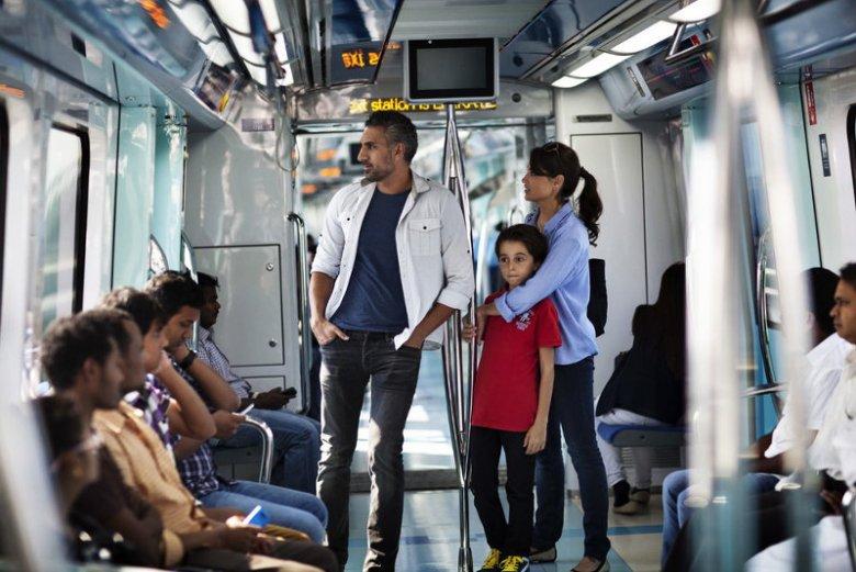 W Dubaju najwygodniejszy środek lokomocji stanowi metro