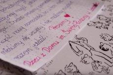 Dzieci z domu dziecka w Lesznie napisały list