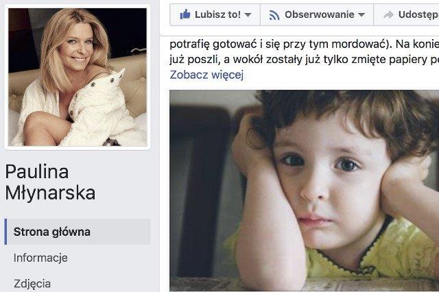 """Paulina Młynarska przyznała, że jej święta przez wiele lat nie należały do """"radosnych""""."""