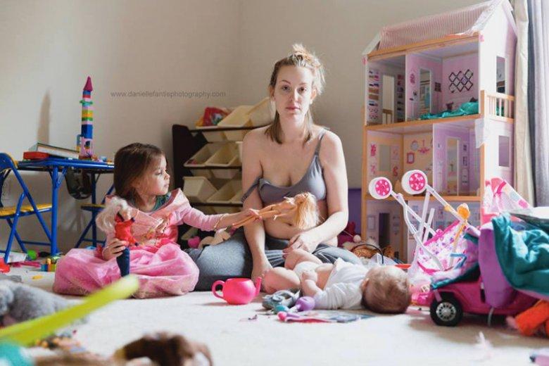 Tak wygląda rzeczywistość matki bez retuszu.