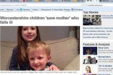 Sześcioletnia dziewczyna uratowała życie matce chorej na cukrzyce