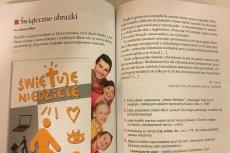 Podręcznik do jeżyka polskiego przypomina katechizm.