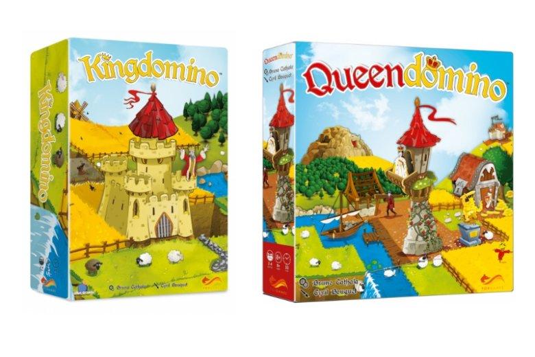 Gry z serii Kingdomino to skrzyżowanie nieśmiertelnego domino z popularnymi wśród rodzin kolorowymi planszówkami
