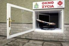 W Oknie Życia w Świdnicy zostało zostawione dziecko. To zdrowy chłopiec