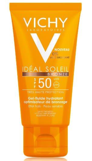 Żel - fluid z wysokim filtrem SPF 50 Ideal Soleil Vichy / apteki