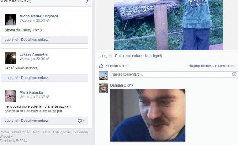 Jednaz najbardziej kontrowersyjnych odsłon głośnej witryny na FB.
