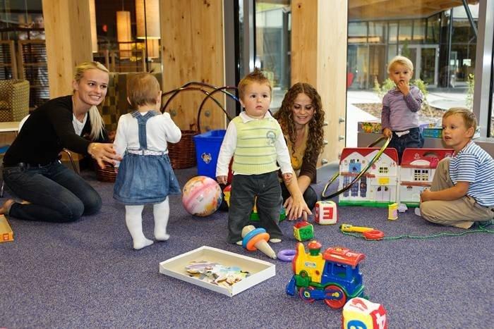 Sala zabaw dla dzieci to ważne miejsce w hotelu