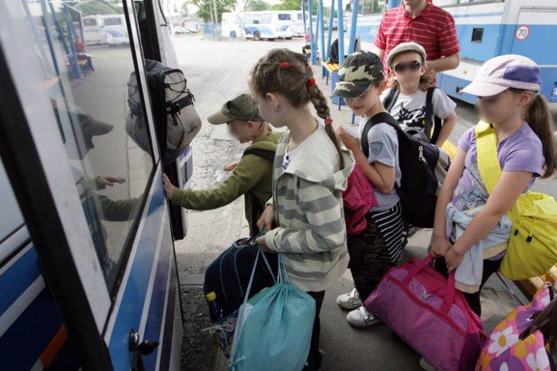Po dzieci przyjechał niesprawny autokar