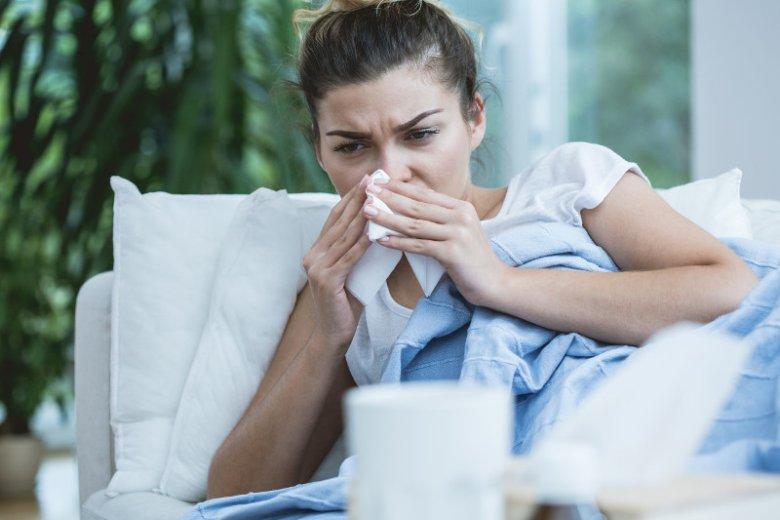 Chory nos powoduje zaleganie w nim wydzieliny, która z czasem staje się siedliskiem patogenów