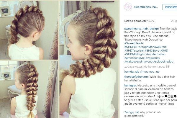 Niesamowite Fryzury Dla Dziewczynek Te Mamy Pokazują Jak