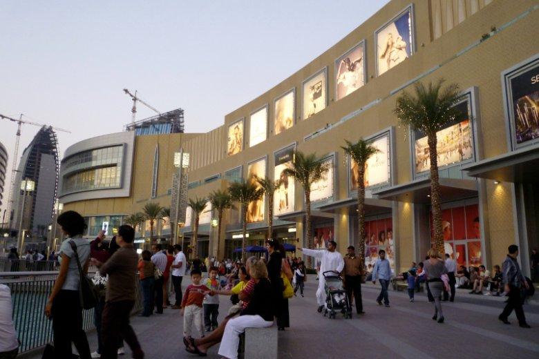 Większość osób mieszkających w Dubaju to imigranci