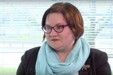 Małgorzata Terlikowska zabiera glos w sprawie czarnego protestu.