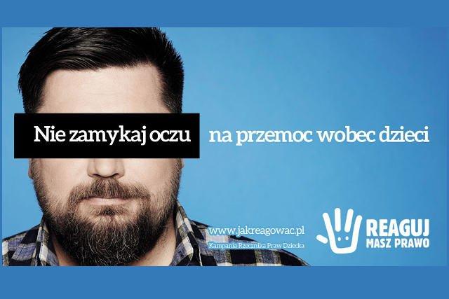 Nie zamykaj oczu na przemoc wobec dzieci.