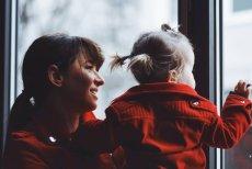 Trening Anny Lewandowskiej z córką.