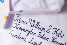 Prezent dla książęcej rodziny od urzędu w Warszawie.