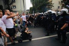 """Ojciec z dzieckiem """"bohaterem"""" marszu równości w Białymstoku"""