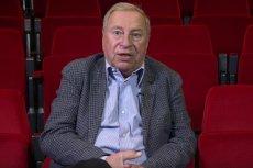 """U Jerzego Stuhra raka zdiagnozowano w 2011 roku. Aktor napisał o tym książkę pt. """"Tak sobie myślę"""""""
