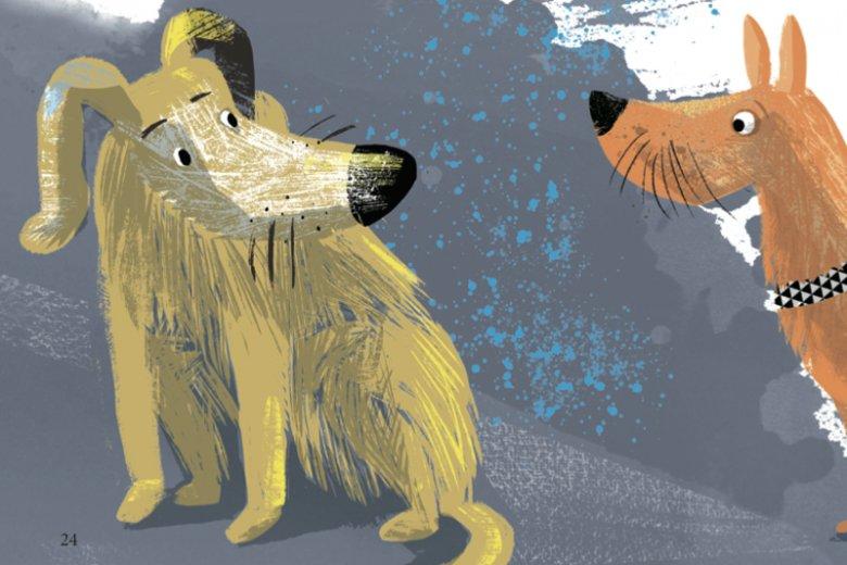 Autorką ilustracji do najnowszego tomu ''Psierocińca'' jest Marta Krzywicka