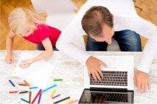 Dziecko w biurze to wyzwanie dla rodzica