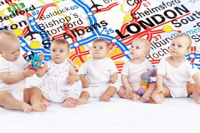 Polski baby boom na Wyspach