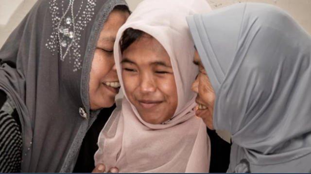 Po dziecięciu latach od tsunami Raudhatul Jannah wróciła do domu.