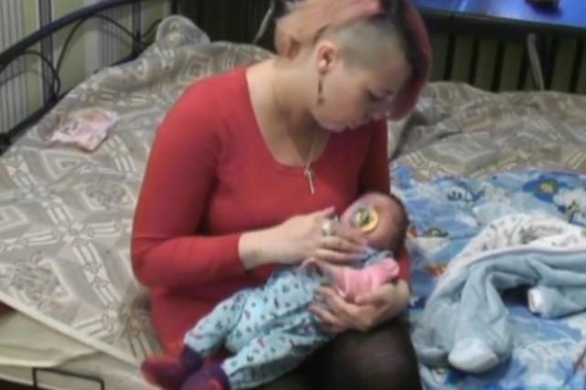 Mały Lucyfer z mamą Natalią