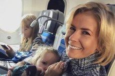 Edyta Pazura opisała swoją podróż z trójką dzieci