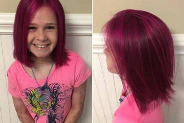 Farbowanie włosów małym dziewczynkom budzi sprzeciw. Nie tym razem.