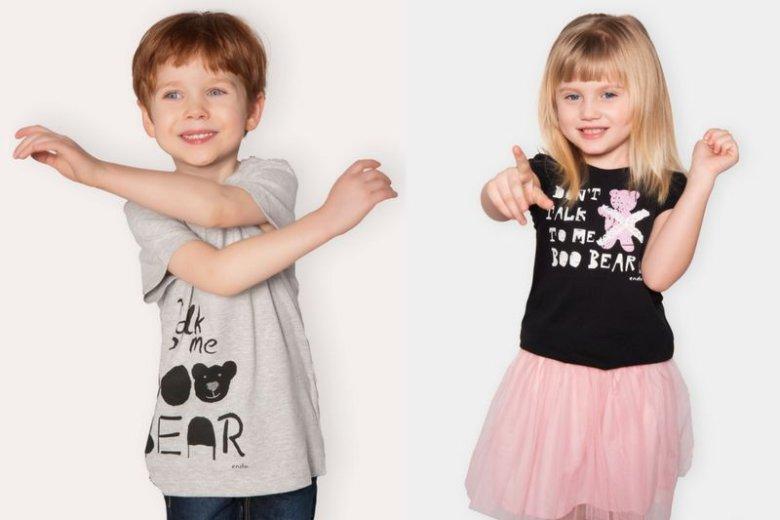 W ramach kampanii zachęcającej do nauki języków obcych sieć Endo wypuści ubranka z nadrukami zawierającymi angielskie słówka i zwroty