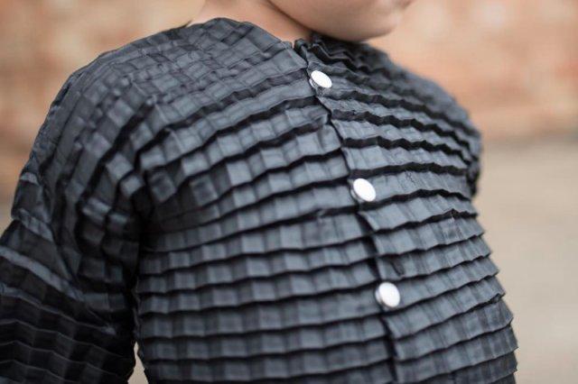 Ubranie, które rośnie z dzieckiem.