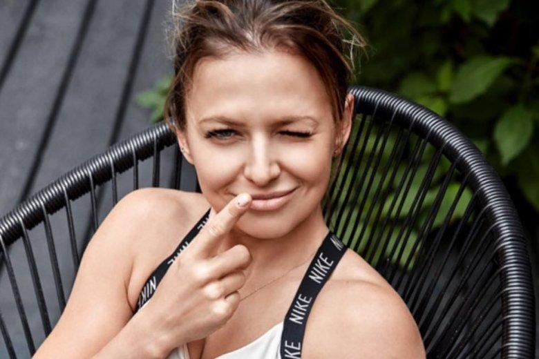 Czy Anna Lewandowska zabierze Klarę na stadion?