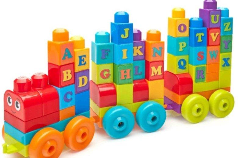 Mega Bloks Pociąg ABC z dźwiękami