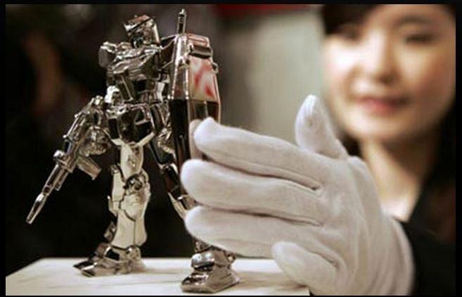 Platynowy robot dla posiadaczy platynowych kart kredytowych
