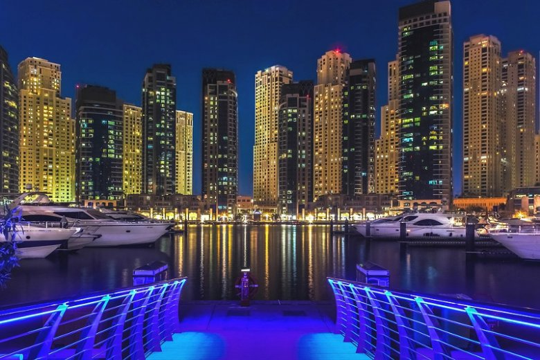 Dubaj jest centrum finansowym Bliskiego Wschodu