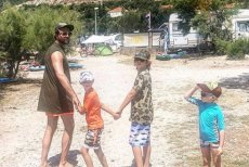 Olivier Janiak pokazał zdjęcie z wakacji.
