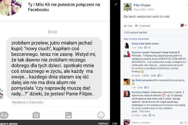 Fot. Screen z Facebooka