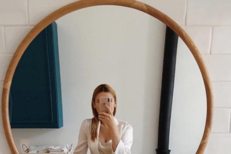 Kasia Tusk w zaawansowanej ciąży.