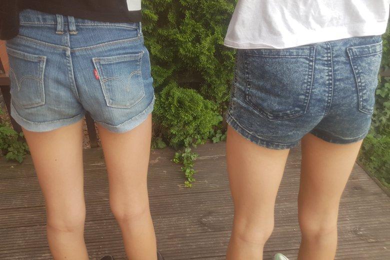 Czy pozwalać córce nosić krótkie spodenki?