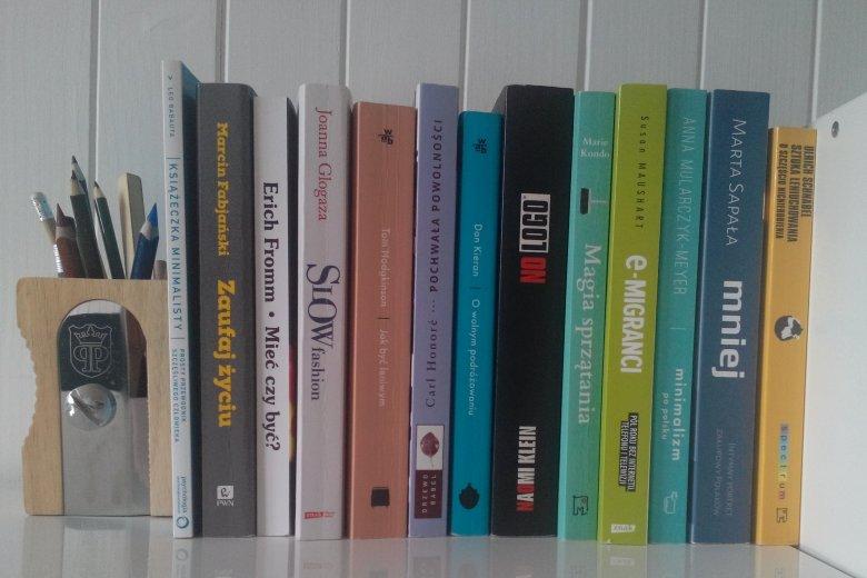 Część zbioru poświęcona tematyce minimalizmu i powolnego życia.