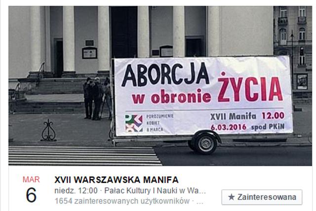 Fot. Facebook.com / Manifa Warszawa
