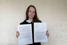 Wiktoria Korzecka napisała dosadny apel do Ministerstwa Edukacji Narodowej, domaga się wyjaśnień od Rządu.