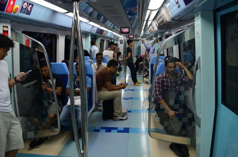 W dubajskim metrze są osobne wagony dla mężczyzn i kobiet